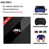 Overseas H96 Pro 1000M LAN Amlogic S912 Octa Core CPU TV Box Android 7 1 OS