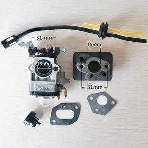Image 4 - Carburetor Base Connector Intake Manifold Fuel Hose 43cc 52cc 40 5 BC430 CG430 CG520 1E40F 5 44F 5 Motor Brush Cutter Trimmer