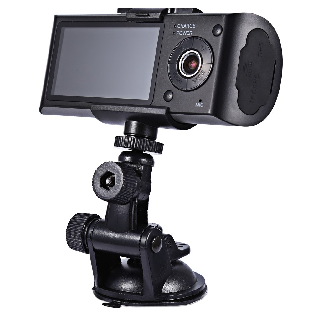 HD Car Camera Dvr Recorder Dual Lens Camcorder Dash Cam ...