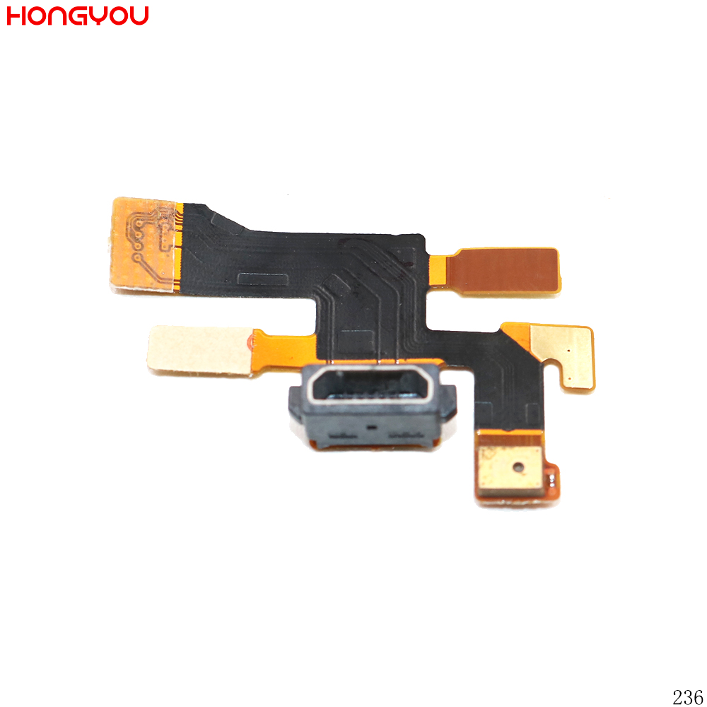 <font><b>USB</b></font> Charging Jack Plug Socket Connector Charge Dock <font><b>Port</b></font> Flex Cable With Microphone For <font><b>Nokia</b></font> <font><b>Lumia</b></font> <font><b>1020</b></font> N1020 image