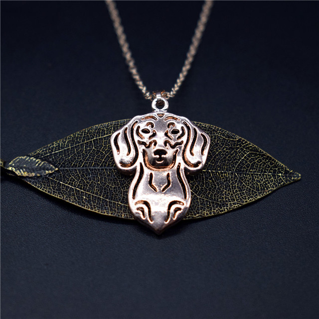 Dog Pendant Necklace 4