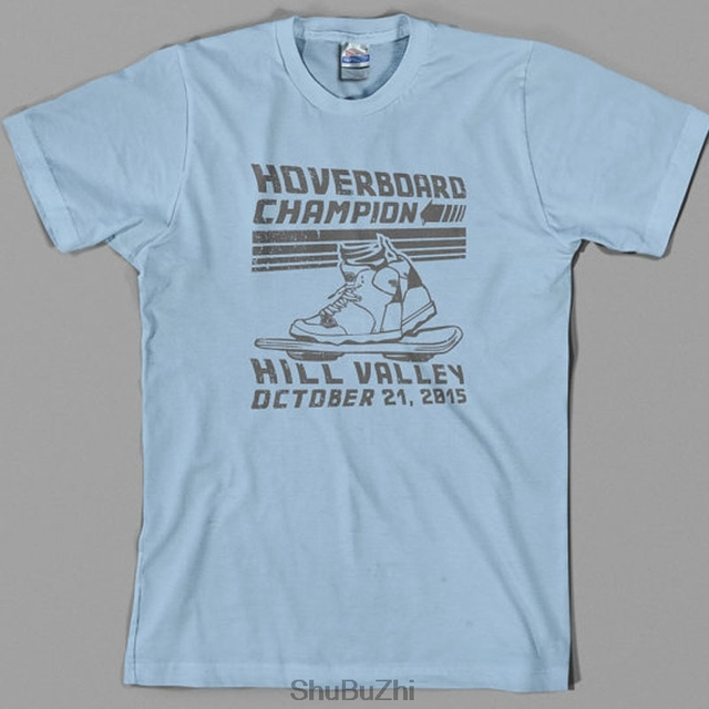 4d3ed8271ab Hoverboard Champion T Shirt - back to the future