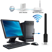 Ralink RT5370 USB 2.0 150mbps WiFi Wireless Network Card 802.11 b/g/n LAN Adapter with rotatable Antenna and retail package