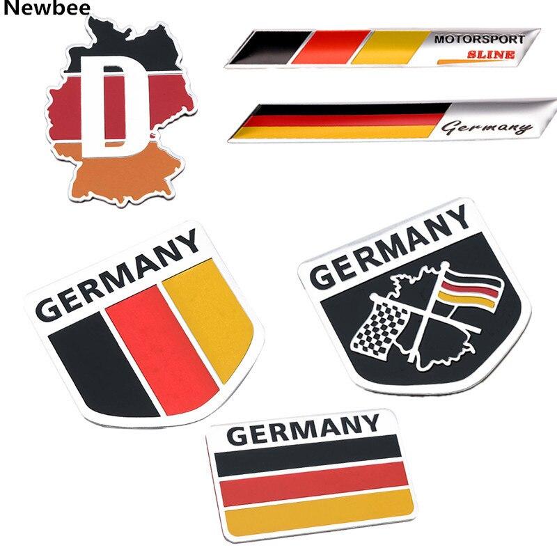 Aliexpress.com : Buy Newbee 3D Aluminium Car Emblem German