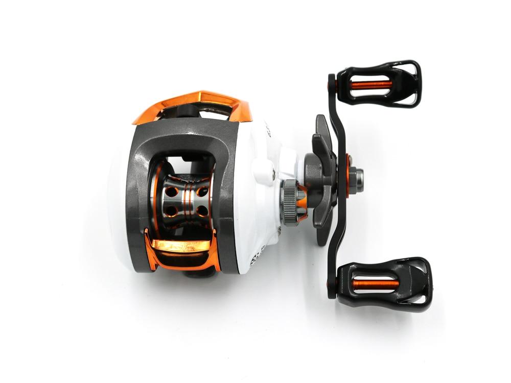 arremesso alta velocidade carretel de pesca com sistema freio magnético lp200