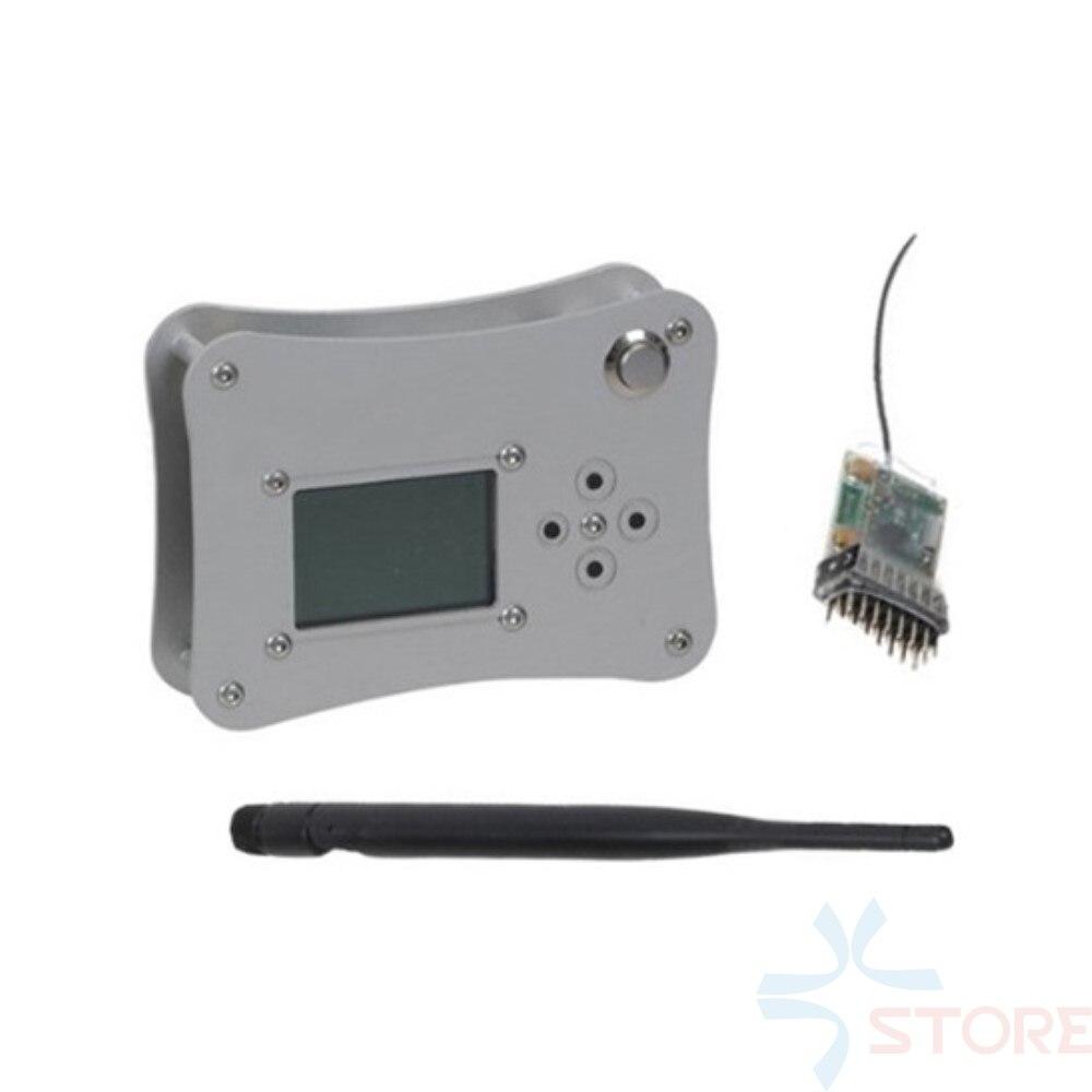 Caixa de ar USB Estação Terrestre FPV Vôo Joystick Controle Remoto para o Sistema de FPV RC Modelos UHF LRS Sistema
