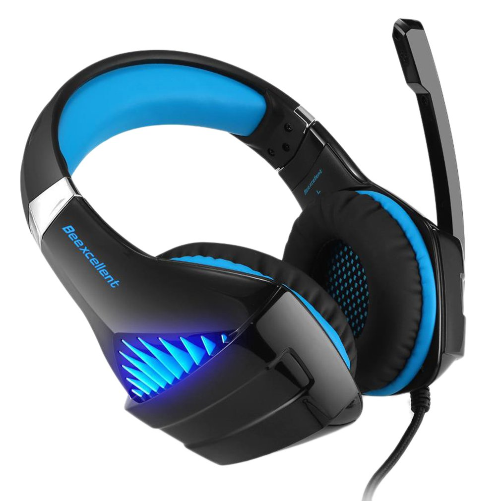 EastVita G2000 3.5mm Wired Gaming Headset PC Headphhone Gamer Stereo Gaming Headphone With Microphone Led For Computer Gamer