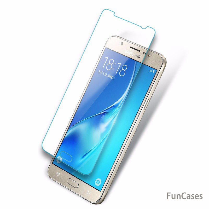 Tempered Glass For Samsung Galaxy A6 A8 J2 J4 J6 2018 A600 A530 J600 A3 A5 A7 <font><b>2017</b></font> J1 J3 J5 <font><b>J7</b></font> 2016 J510 Screen Protector Film image