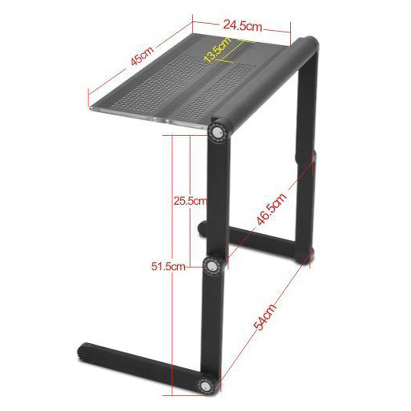 wholesale black color metal folding laptop desk portable folding drawing table notebook table stand for sofa aliexpresscom buy foldable office table desk