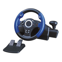 Computer Game Steering Wheel USB Car Driving Simulator Training Aircraft Game Controller Joystick For XBOX 360 PS3 For PS4
