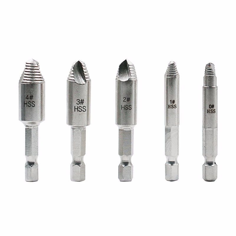 Screw Remover Wood Screw Iron Screw Cutting Tooth Head Out High Speed Steel Wire Breaking Removal Tool