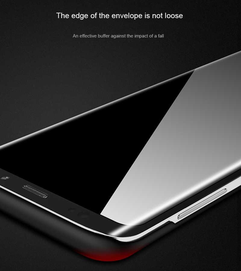 מט מקרה טלפון עבור Samsung Galaxy S5 S6 S7 קצה S8 בתוספת J3 J5 J7 A3 A5 A7 2015 2016 2017 הערה 3 4 5 מלא פלסטיק כיסוי