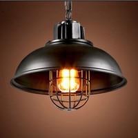 Loft Vintage American Industrial Pendant Light Creative Personality Cafe Restaurant Bar Wrought Iron Single Head Pot