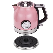 1.8L 304 Stainless Steel Electric Kettle With Water Temperature Meter 1500W Household 220V Quick Heating Electric Boili Eu Plu bubble milk insulation display temperature thermostat 304 stainless steel electric kettle