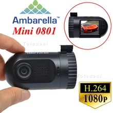 "1.5 "" portátil Mini HD 0801 Ambarella A2S60 1080 P 135 Degree gran angular Video del coche DVR videocámara de la cámara con GPS Logger"