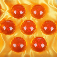 7PCS SET DRAGON BALL With Gift Retail Box 3 5CM Resin Dragon Ball Z 7 Stars