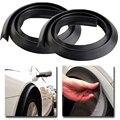 2x Автомобильное внешнее колесо для бровей Резиновая лента для предотвращения столкновений черная 1 5 м автомобильное колесо крыло удлинени...