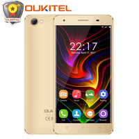 Original Oukitel C5 Smartphone 5 Inches Android 7 0 RAM 2GB ROM 16GB Telephones With 5MP