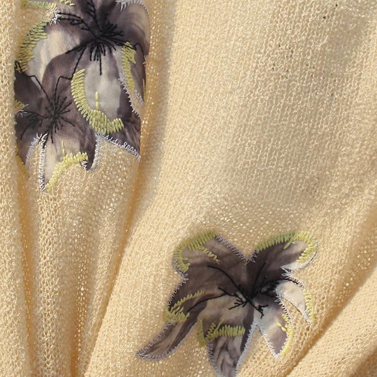 Corta Sexy 065 2018 B Top De Blusa blanco Verano Malla Floral Ganchillo Blusas negro Cosecha Bordado Tops Flor Bordada Beige Camisa CT5Opw5q