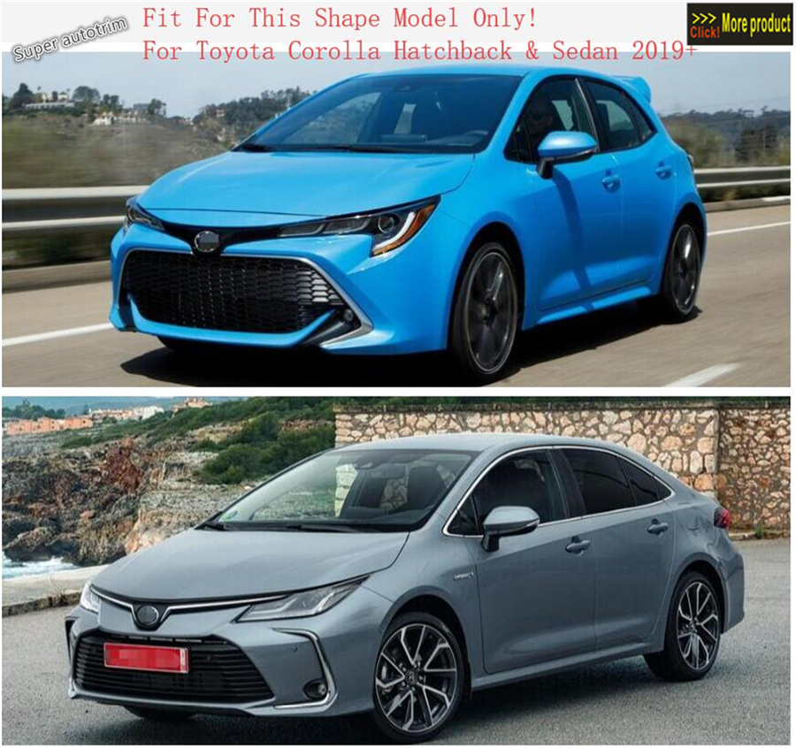 Fit For Toyota Corolla Hatchback 2019 Interior Headlight Switch Cover Trim