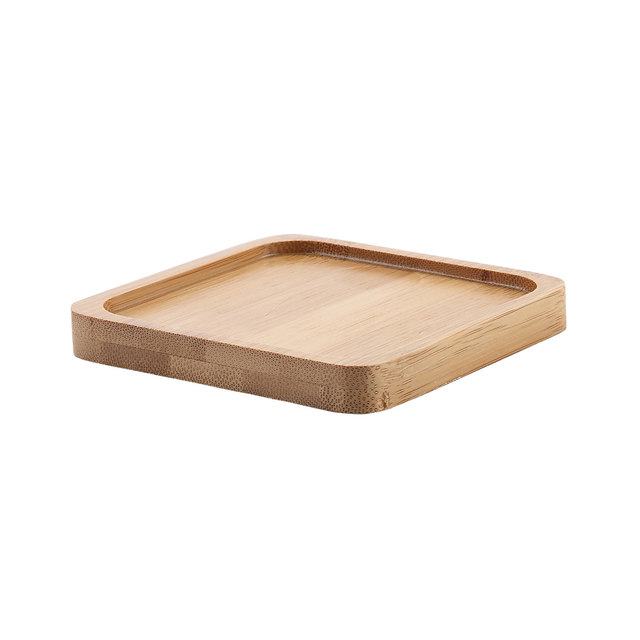 Garden Bamboo Polygon Tray