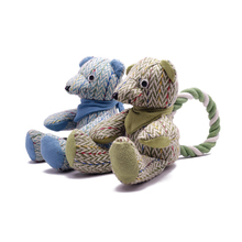Puppy Toys Dog Accompany Dogs To Sleep  Plush for Small Pet Supplies Teeth Cleaning