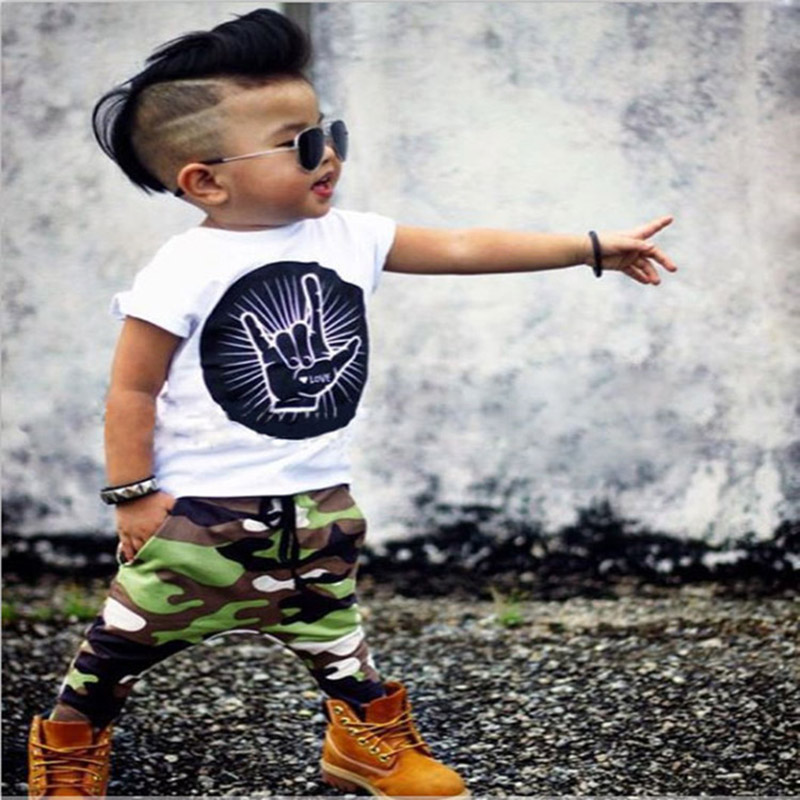 kids boys sport clothing sets infantil newborn military  inger t-shirt pants baby boys clothes suits spring children tracksuits