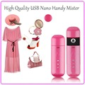 Mini Portable Facial Beauty Skin Care Tool Nano Handy Mister Facial Moisturizing Sprayer Steamer