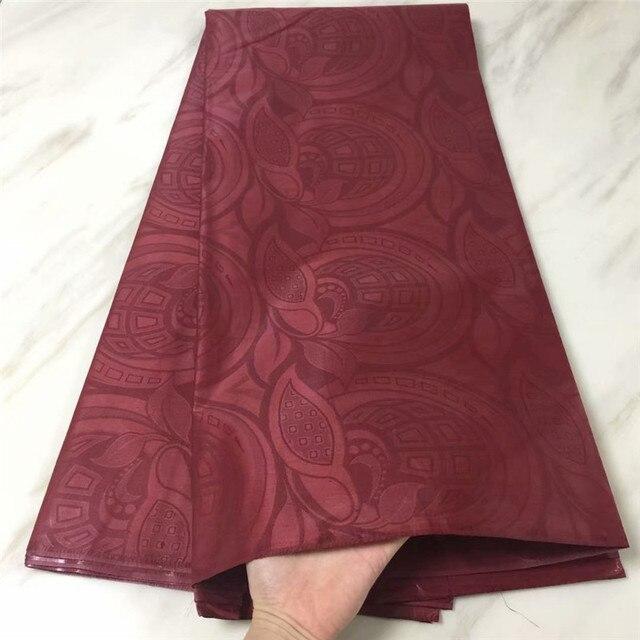 PL!Bazin Riche Getzner 5 Yards Austria Quality Guinea Brocade Garment Fabric 100% Cotton african fabric ! L61508