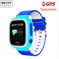 MKUYT Q80 Q90 GPS Позиционирование Телефона Мода Дети Часы 1.22 Дюймов Цветной Сенсорный Экран SOS Smart Watch PK Q50 Q60