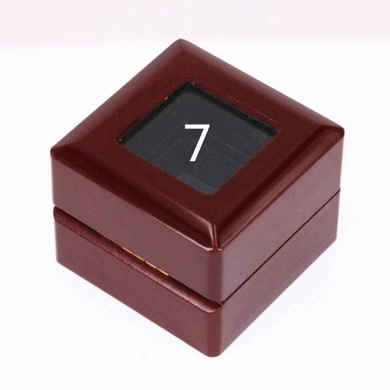 USA size 10/11/<font><b>12</b></font> factory wholesale price <font><b>MM</b></font> 1956 rings solid ring display box drop shipping image