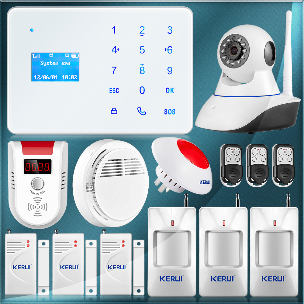 Update Wireless Wired GSM Alarm System Home font b Security b font Alarm Android IOS App