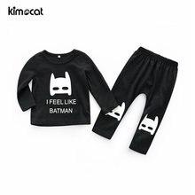 Хлопковая одежда для новорожденных kimocat с длинным рукавом