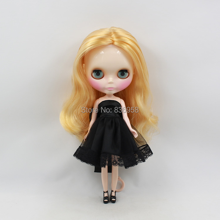 Nude Doll For Series No .230BL3107 BLOND Long hair White skin Suitable For DIY Change Toy For Girls
