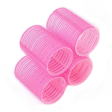 Hot Fashion 2015 Convenient 6pcs/set Grip Cling Hair Styling Roller Curler Hairdressing DIY  Tool  7 Sizes   6F6F