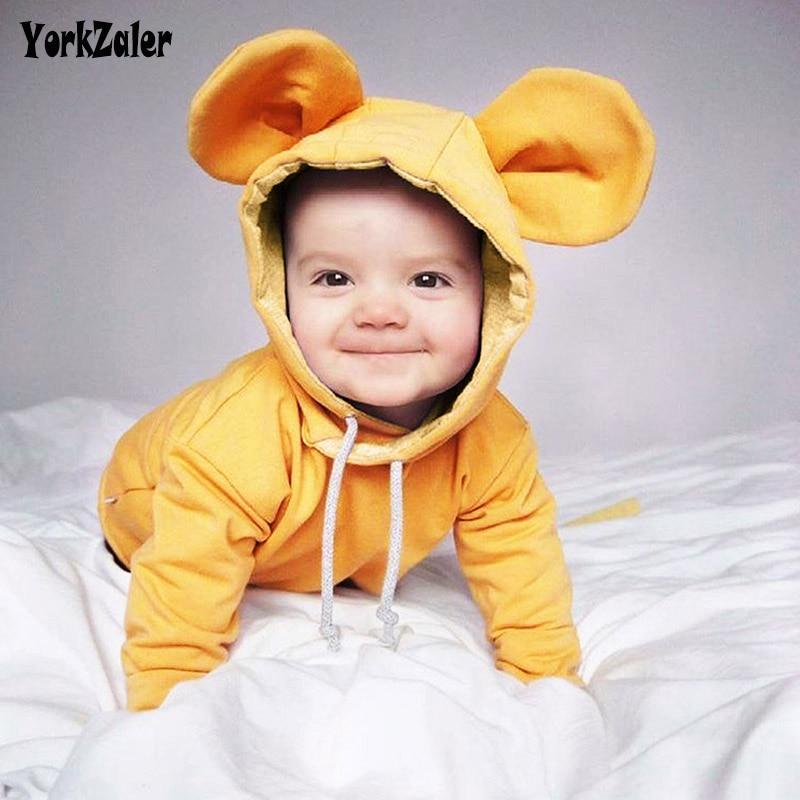 Kisgyermek gyermek ruházat Gyerek ing Kisgyermek fiú pulóver Medve fülek Kapucnis póló lányoknak Gyerekek Tavasz őszi blúz Pulóver