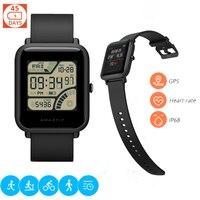 Original Xiaomi Huami AMAZFIT Smartwatch IP68 Waterproof Heart Rate Sleep Monitor Geomagnetic Sensor GPS Smart Band