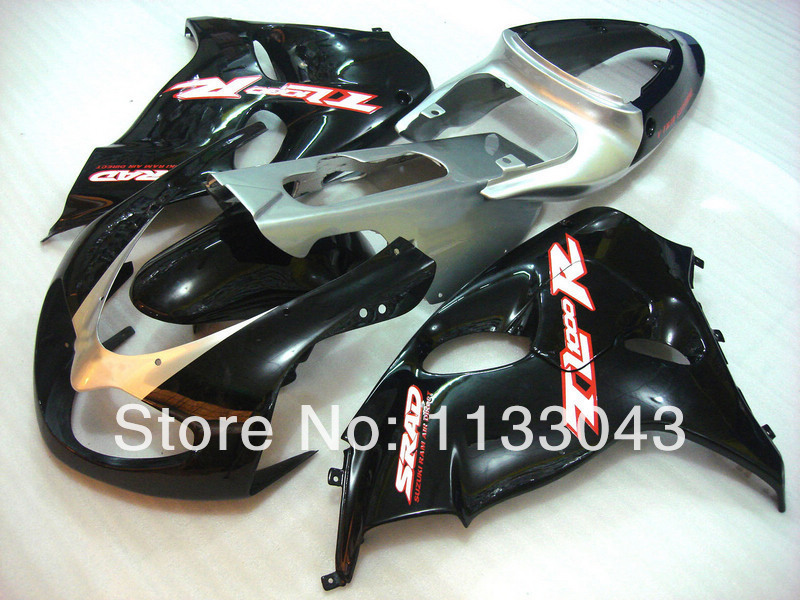 Комплект обтекателей для SUZUKI TL1000R 98 99 00 01 02 03 TL1000 R TL 1000R 1000 R 1998 1999 2001 2003 черный H324 обтекатели
