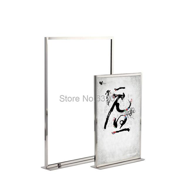 Aliexpress.com : Buy Stainless Steel A4 A3 Poster Frame Table ...