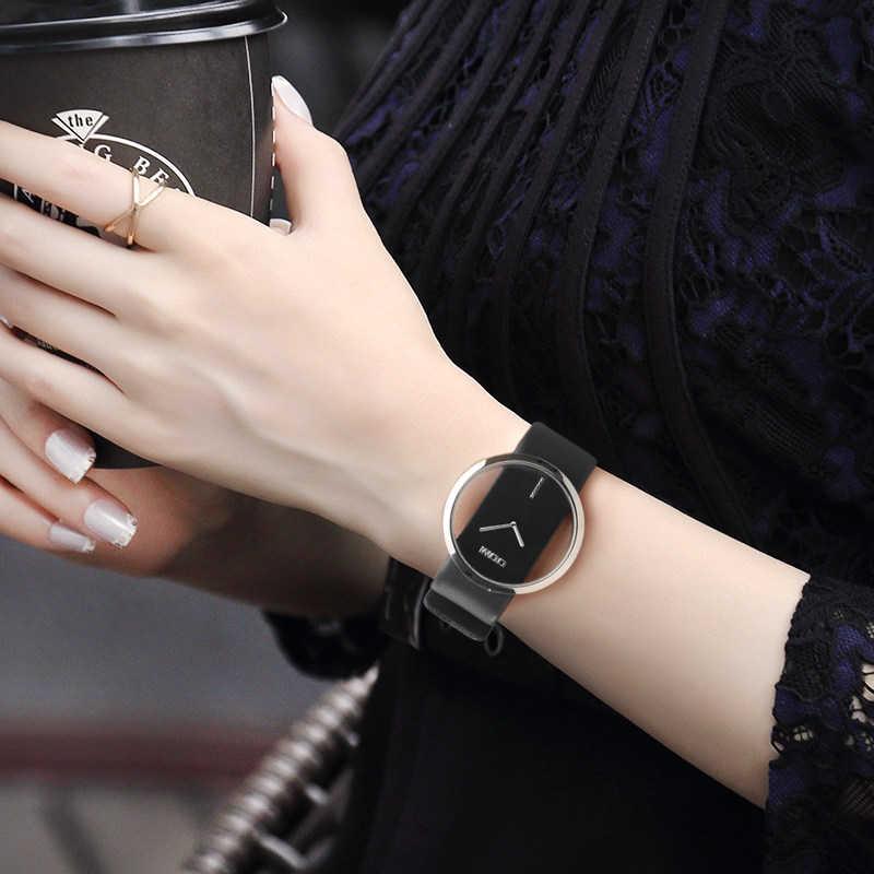 DOM Uhren frauen top marke luxus Casual Leder quarzuhr weiblichen Uhr mädchen kleid handgelenk relogio montre femme saati LP -205