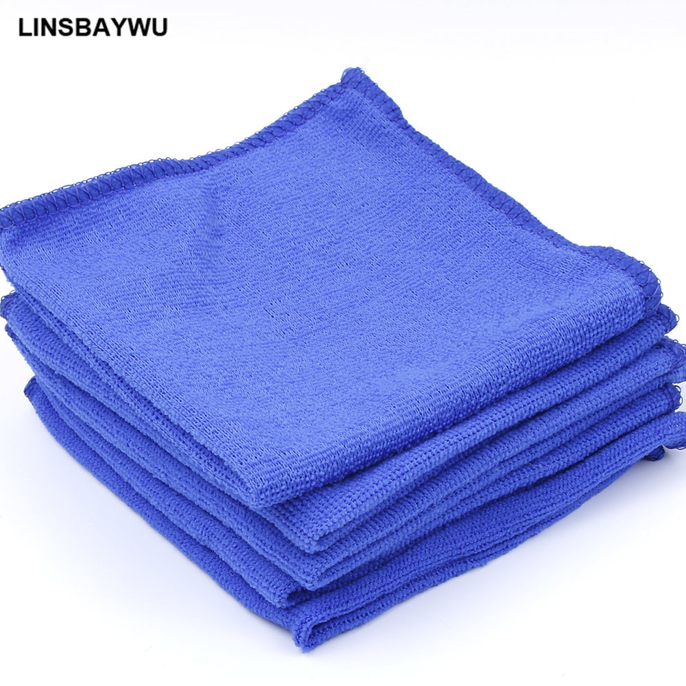 Car-styling 2PCS Blue Absorbent Wash Cloth Car wash Auto Care Microfiber Cleaning Towels Polishing Detailing Towels