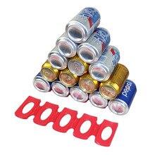 Botella y fácil Stacker 2 Pack pila botellas de agua y latas de alimentos de ajuste más en tu estanterías y en su nevera