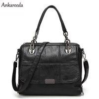 Ankareeda marke neue mode hohe qualität PU handtasche solide schulterkurierbeutel Heiße aktentasche luxus frauen tasche