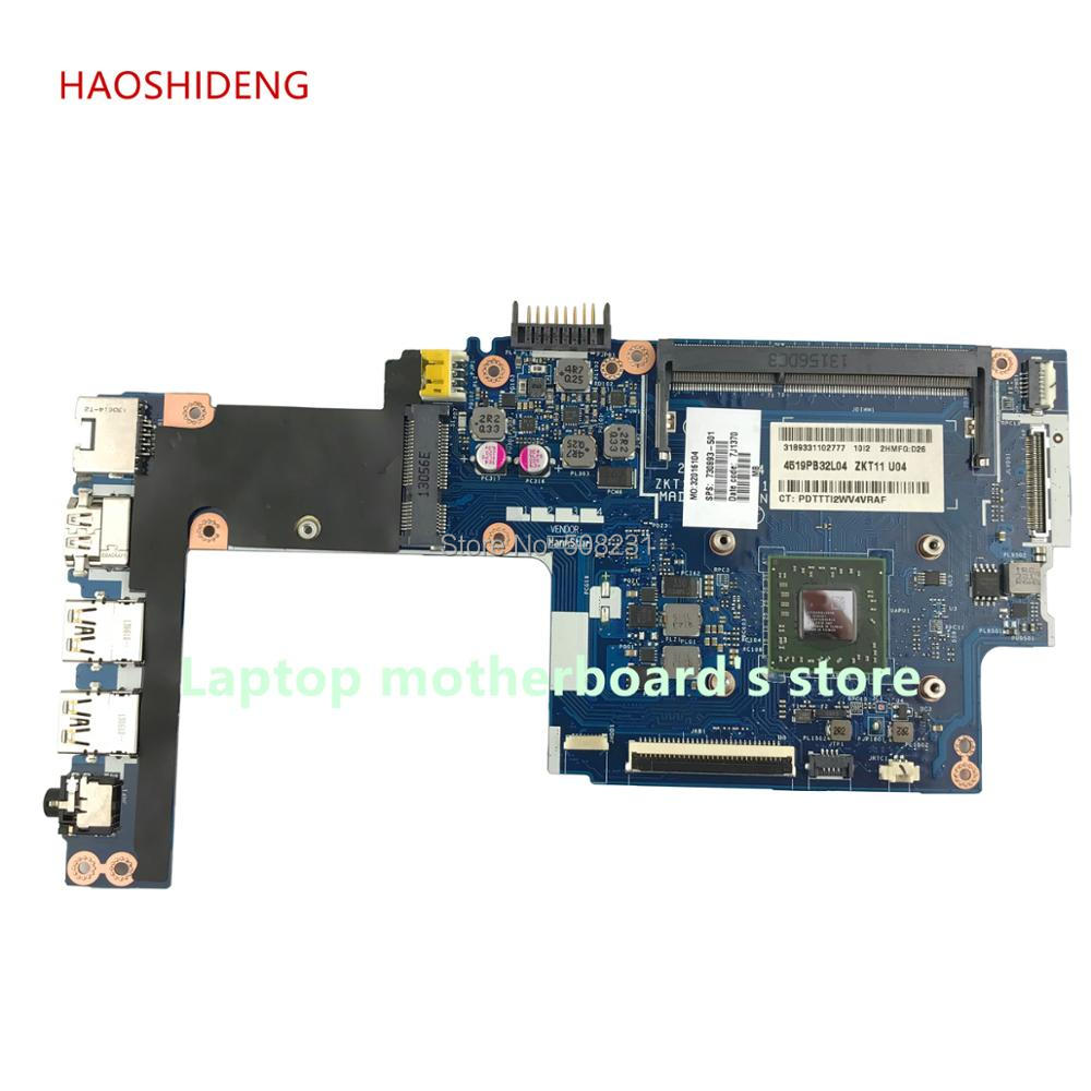 HAOSHIDENG LA-A521P 730893-501 730893-001 for HP Pavilion TS 11-e laptop motherboard with A4-1250 CPU All functions fully Tested