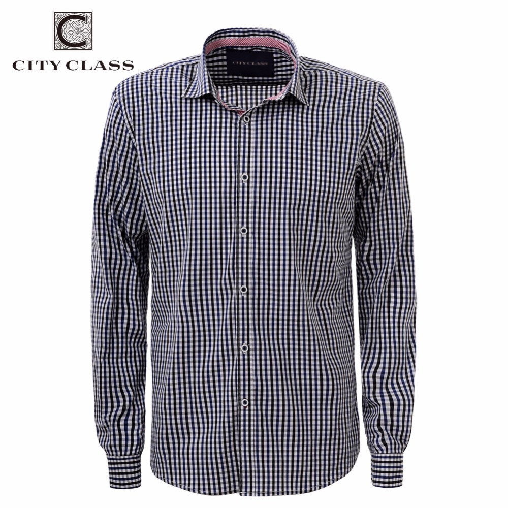 City class 2016 men dress eu size shirt full sleeve for Mens dress shirts sizes