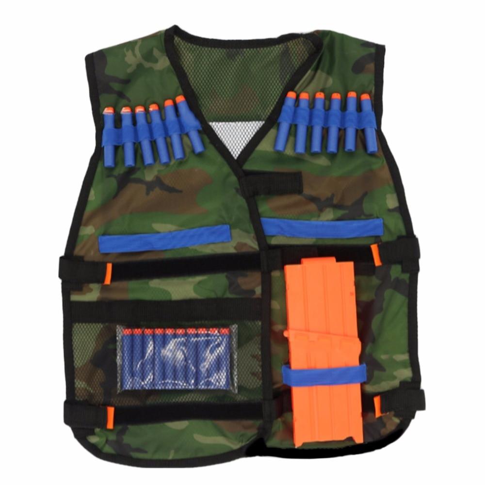 54*47cm New colete tatico Outdoor Tactical Adjustable Vest Kit For Nerf N-strike Elite Games Hunting vest Top Quality лук nerf n strike легкий