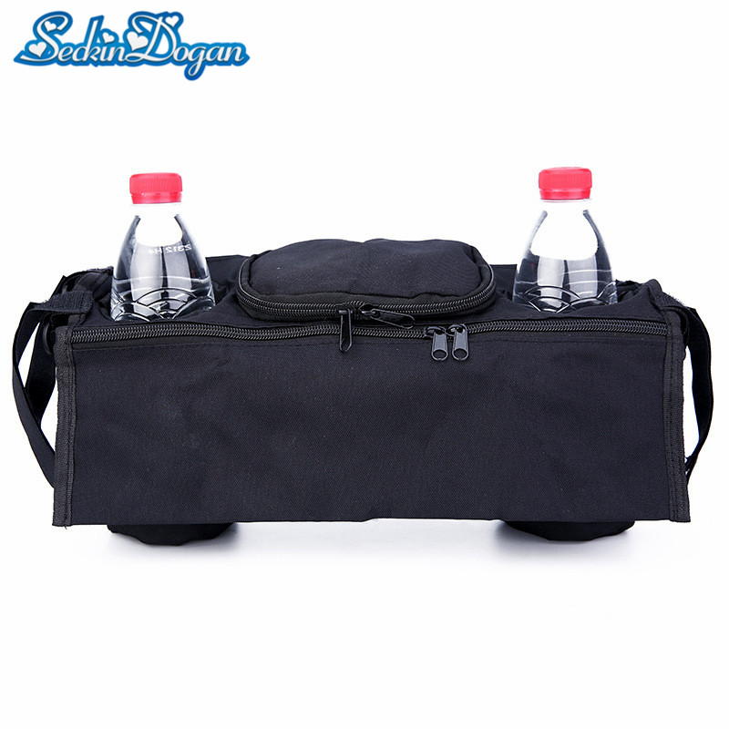Baby Stroller Bag Carriage Hanging Diaper Bags Waterproof Polyester Mummy Bag Outdoor Small Baby Care Stroller Bag