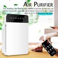 Luftreiniger Negative Ionisator Timing Ruhig Aktivkohle Luftfilter für Home Office Entfernen Formaldehyd Rauch-in Luftreiniger aus Haushaltsgeräte bei