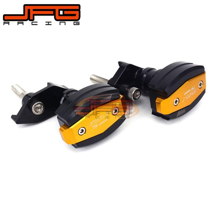 Motorcycle Crash Pads Frame Engine Sliders Protection For Suzuki GSXS 1000 GSXS1000 2015 2016 2015-2016