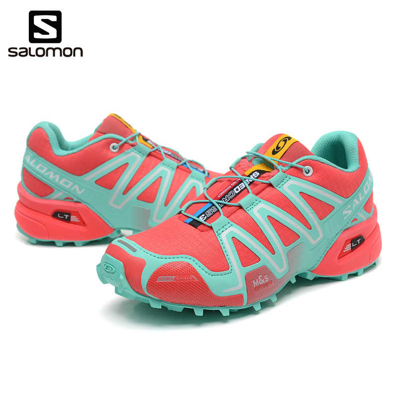 98a475a8be45 ... 2018 Newest Salomon Speed Cross 3 CS III Women Shoes Outdoor Woman  Sneakers Zapatos De Mujer ...